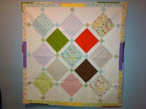 baby quiltphoto